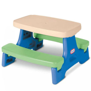 Plastic picnic table for toddlers the best table of 2018 kids rectangle plastic picnic table bench for toddlers with umbrella watchthetrailerfo